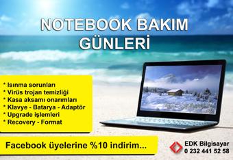 notebook-bakim
